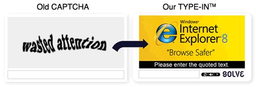 Werbe-CAPTCHAs von Solve Media
